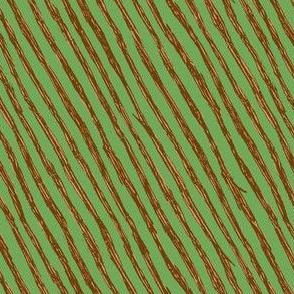 Branch Stripes // Green