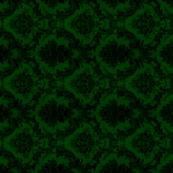 damask- green 3
