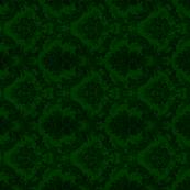 damask- green 4