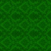 damask- green 5