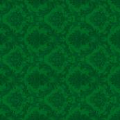damask- green 6
