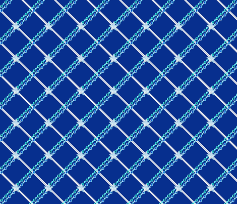 Blue_Starry_Plaid_sm fabric by landimonk on Spoonflower - custom fabric