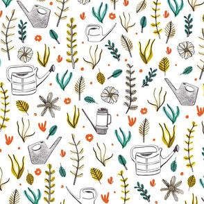 Plants & Cans by Veronique de Jong