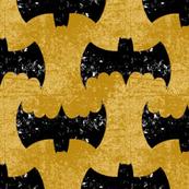 Bat Grunge Mustard