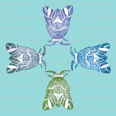 Moth dancers