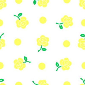 Yellow rose repeat