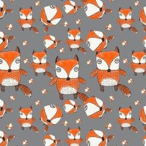 baby foxy (gray)
