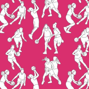 Basketball on Magenta