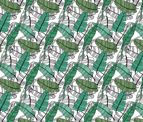 Leaf_1 fabric by byzuki on Spoonflower - custom fabric