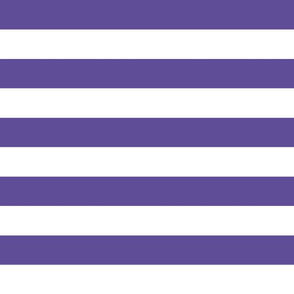 wide stripes indigo purple