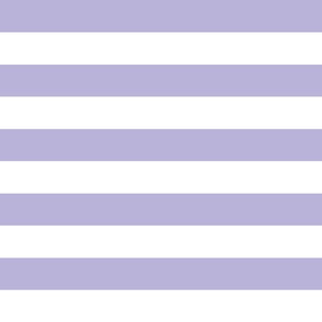 wide stripes lavender