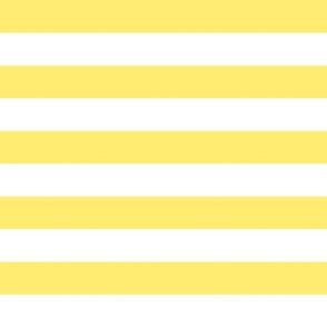 wide stripes yolk yellow