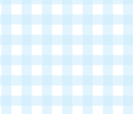brushed wide gingham sky blue fabric by lifebymom on Spoonflower - custom fabric