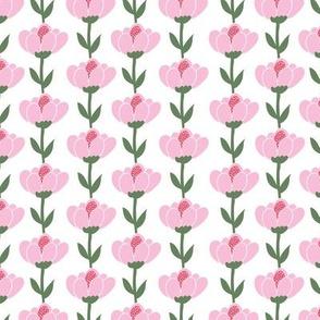 Scandinavian tulips - pink