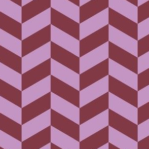 16-15N Lilac and plum herringbone_Miss Chiff Designs