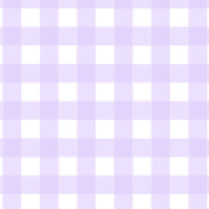 brushed wide gingham periwinkle purple