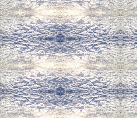 Quilted Clouds fabric by gracelillydesigns on Spoonflower - custom fabric