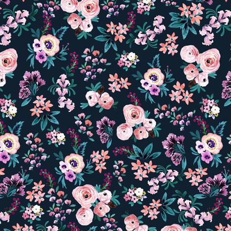 Moody_Victorian_Ditsy fabric by crystal_walen on Spoonflower - custom fabric