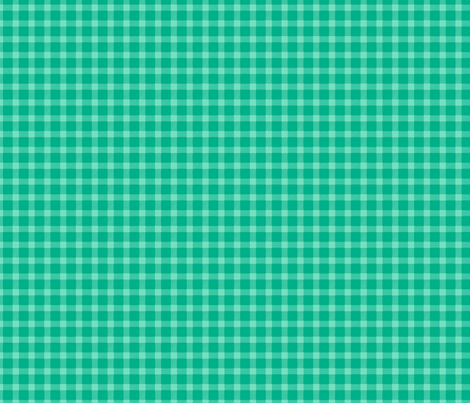Lumberjack Plaid in Teal fabric by shannonmcnab on Spoonflower - custom fabric