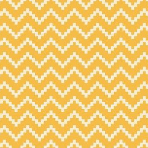 Stepladder Zig Zag in Yellow