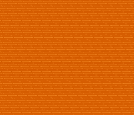 Straight as an Arrow in Burnt Orange fabric by shannonmcnab on Spoonflower - custom fabric