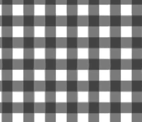 brushed wide gingham midnight black fabric by lifebymom on Spoonflower - custom fabric