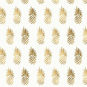 Gold Pineapple rows