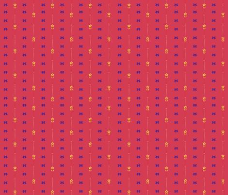 Red Mars Make Up! fabric by youraveragenerd on Spoonflower - custom fabric