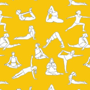 Yoga on Yellow