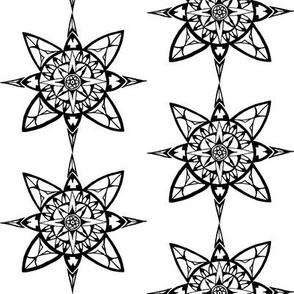 Mandala - Compass Rose
