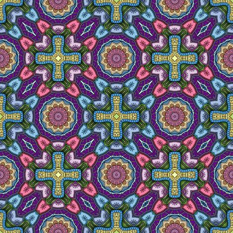 easter basket I fabric by janbalaya on Spoonflower - custom fabric