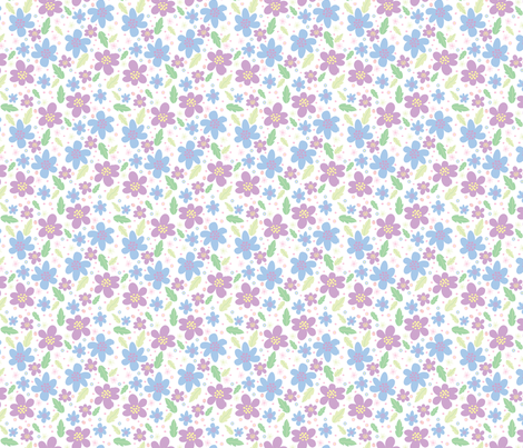 Dreams and Wishes springtime fabric by colour_angel_by_kv on Spoonflower - custom fabric