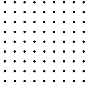dots tiny » black + white no.2