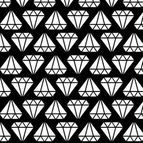 diamonds forever reversed » black + white no.3