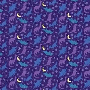 Dinosnore - Purple Dinosaurs