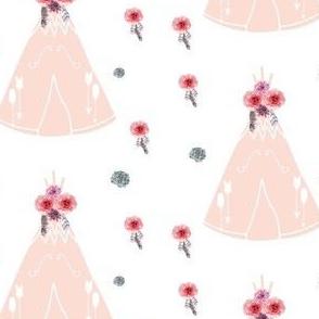 Pink Teepee