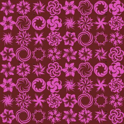 Pinwheel Whirligigs - Rose