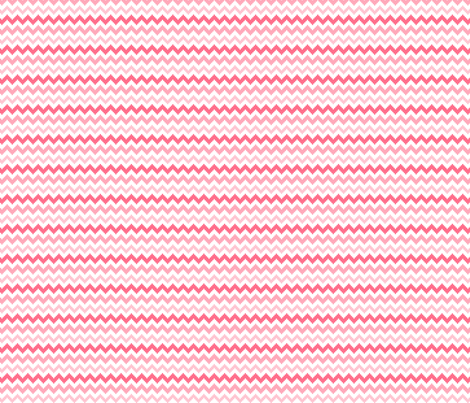 knitted pink no.2 chevron fabric by misstiina on Spoonflower - custom fabric