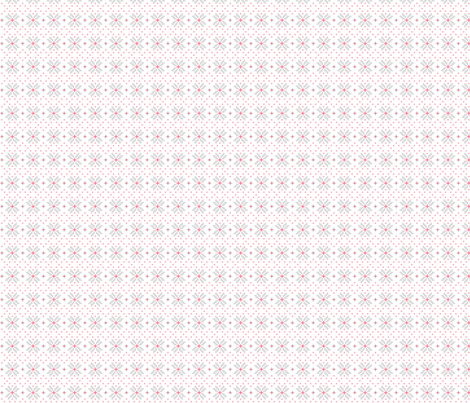 knitted pink no.3 poinsettias fabric by misstiina on Spoonflower - custom fabric