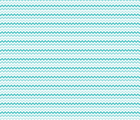 knitted teal no.2 chevron fabric by misstiina on Spoonflower - custom fabric