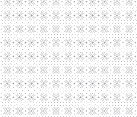 knitted grey no.3 LG poinsettias fabric by misstiina on Spoonflower - custom fabric