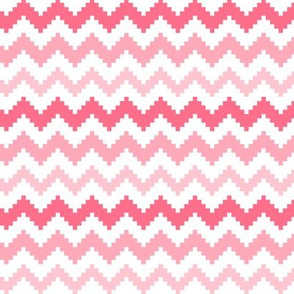 knitted pink no.2 LG chevron