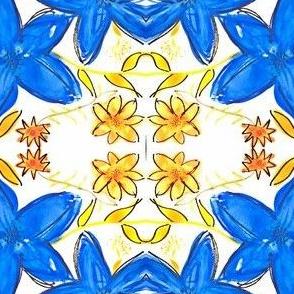 wild blue & yellow