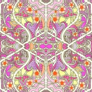 Paisley Flower Twist