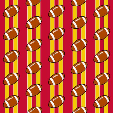 kansas city chiefs - small fabric by stofftoy on Spoonflower - custom fabric