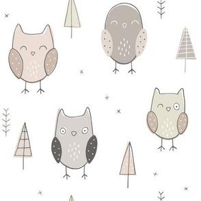Sketchy Owls