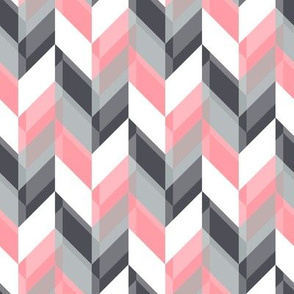 Double transparant Chevron