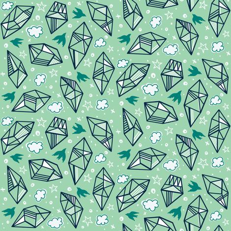 Diamond Skies fabric by khubbs on Spoonflower - custom fabric