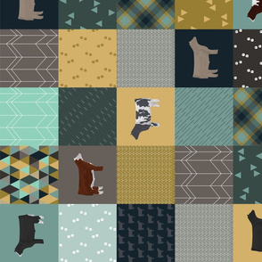 Cheater Quilt - Steers - all breeds