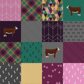 Hereford Cheater Quilt
